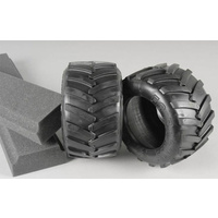 06228/01 Monster Truck Tyres Medium/ inserts, 2pcs.